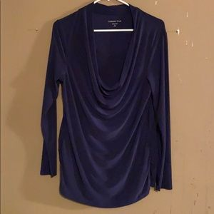 COLD WATER CREEK LONG SLEEVE BLOUSE